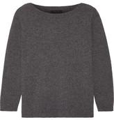 The Row Juliette Cashmere Sweater - Dark gray