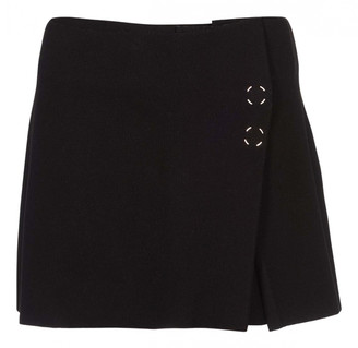 Acne Studios Black Wool Skirts