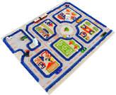 44.5'' Blue Traffic 3-D Play Mat