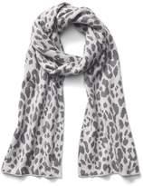 Cozy leopard scarf