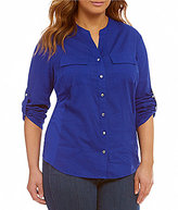 Peter Nygard Plus Utility Shirt