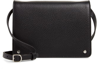 Treasure & Bond Lex Pebbled Leather Crossbody Bag