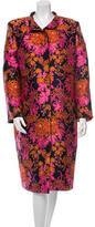 Zac Posen Floral Patterned Coat w/ Tags