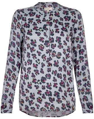 Nooki Design Diana Blouse - Grey Leopard