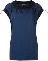 Marni drawstring short sleeve top