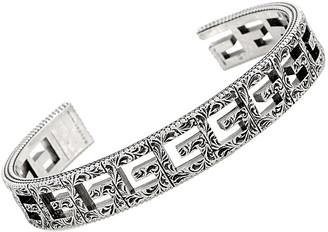 Gucci G Cube Silver G Motif Size 19 Bracelet