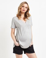 Mama Licious Mamalicious Maternity Denim Shorts
