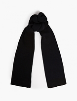 S.n.s. Herning Navy Cable-knit Real Scarf