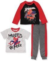 Spiderman Little Boys' 3-Piece Set