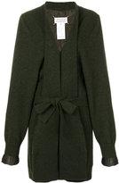 Maison Margiela gauge 7 knit cardi-coat
