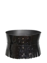 Viktor & Rolf Viktor&rolf - High Waisted Patent Leather Belt