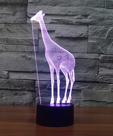 Giraffe 3D Optical Illusion Color-Changing LED Night Lamp