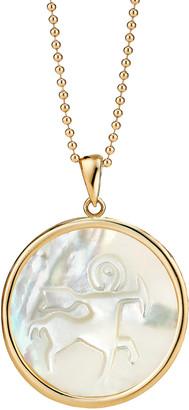 Ashley McCormick Sagittarius 18K Gold Pendant