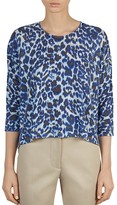 Gerard Darel Zest Leopard Print Knit Pullover