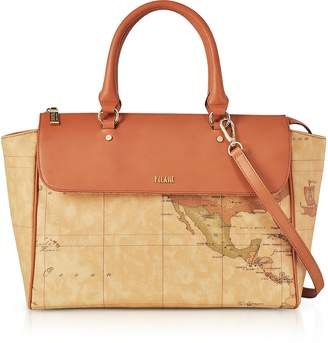 Alviero Martini Large Geo Classic Handbag