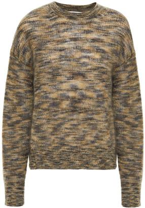 IRO Marled Mohair-blend Sweater