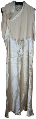 Vivienne Tam Yellow Silk Dress for Women