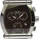 Charriol COLVMBVS 060T2 Stainless Steel & Leather Quartz 35mm Mens Watch