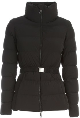 Seventy Short Stretch Padded Jacket W/belt