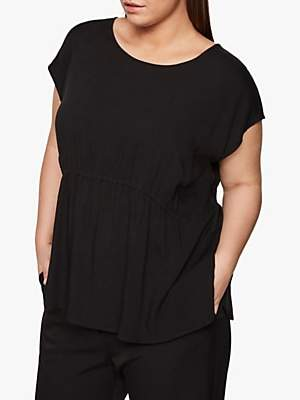 Betta I.Scenery Curve Blouse, Black