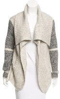 Yigal Azrouel Open Front High-Low Cardigan