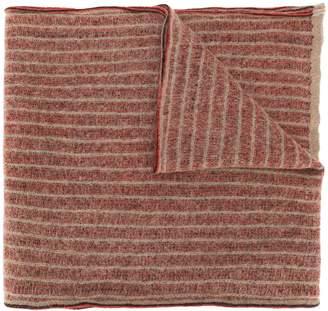 Stephan Schneider striped knit scarf