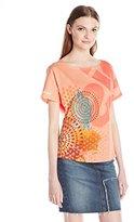 Desigual Women's Canteloupe Oversize T Shirt