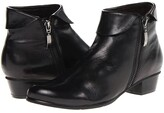 Spring Step Stockholm (Black) Women's Zip Boots