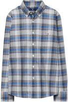 Gant Boys Heather Plaid Shirt 3-15 Yrs