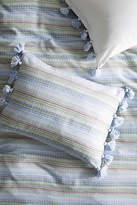 Anthropologie Woven Stripe Shams