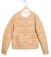 Chloé Girls' Reversible Down Jacket