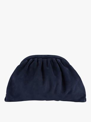 Hobbs Iona Suede Clutch Bag