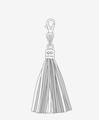 GiGi New York Customizable Tassel Bag Charm, Choose Your Colors