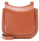 The Row Hunting Leather Shoulder Bag