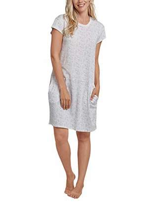 Schiesser Women's Sleepshirt 1/4 Arm, 90cm Nightie,8 (Size: 034)