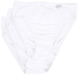 Jockey Elance(r) French Cut 3-Pack (White/White/White) Women's Underwear