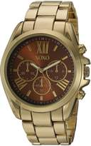 XOXO Women's Quartz Metal and Alloy Casual Watch, Color:Gold-Toned (Model: xo280)