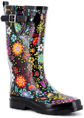 Western Chief Women Regular Printed Tall Rubber Rain Boots Women Shoes