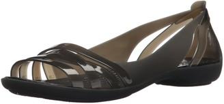 Crocs Isabella Huarache 2 Flat W Womens Peep-Toe