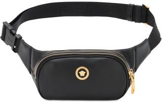 Versace Medusa Leather Belt Bag