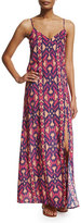 Vix Capadocia Printed Maxi Dress Coverup