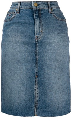 Tommy Jeans Denim Midi Skirt