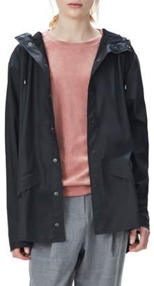 Rains Waterproof Hooded Rain Jacket