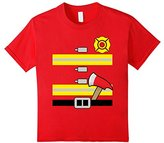 Kids Kids Firefighter Uniform - Boys & Girls Halloween T-Shirt