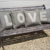 Jonny's Sister Appliqued Cushions
