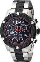 Versus By Versace Men's SOC050014 AVENTURA Analog Display Quartz Two Tone Watch