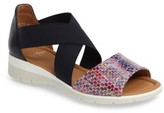 ara Women's Larissa Cross Strap Wedge Sandal