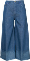 Co wide leg cropped jeans - women - Cotton/Linen/Flax - 2