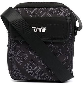 Versace Jeans Couture Multi-Pocket Messenger Bag
