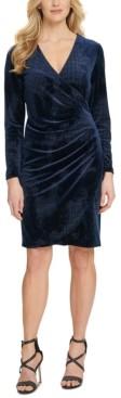 DKNY Ruched Sheath Dress